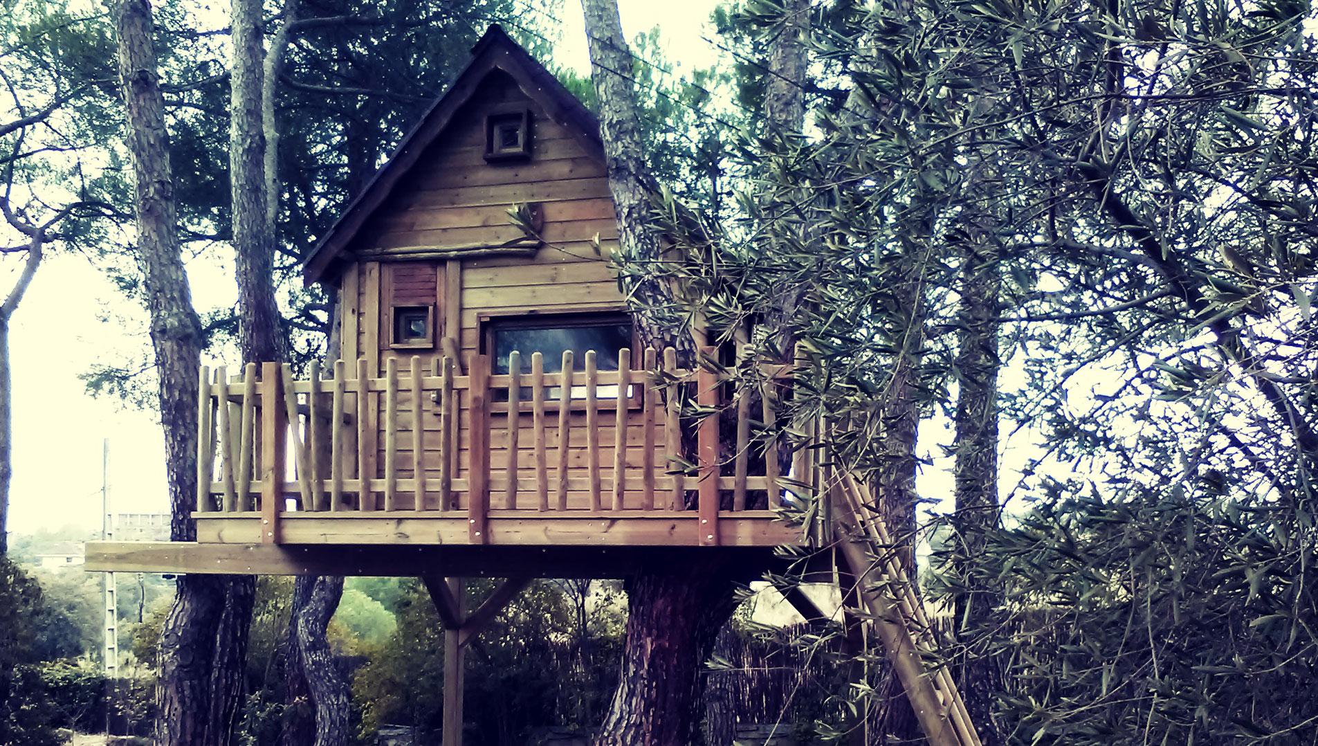 Casas Casitas Cabañas En El árbol Fun Houses Casitas En árboles Casas Cabañas España Euzkadi