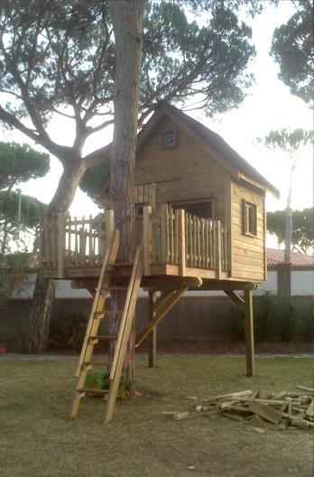 Casita en el árbol en  Chiclana de la Frontera – Cadiz