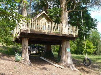 Casa en el árbol en Hoz de Anero  – Cantabria