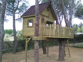 Casa en el árbol en Las Rozas – Madrid
